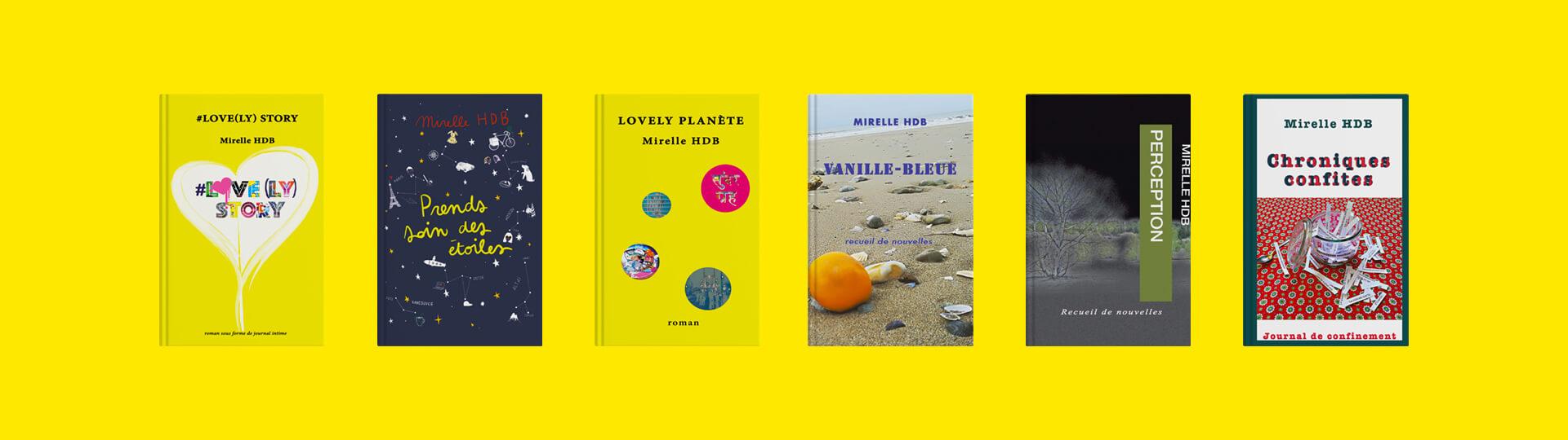 Tous les livres écris par Mirelle HDB
